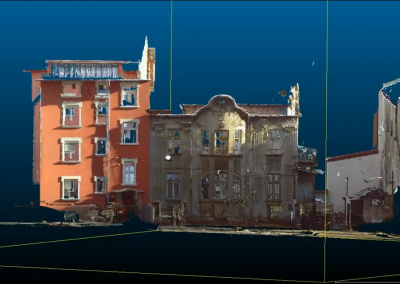 3D Сканиране на архитектурен паметник