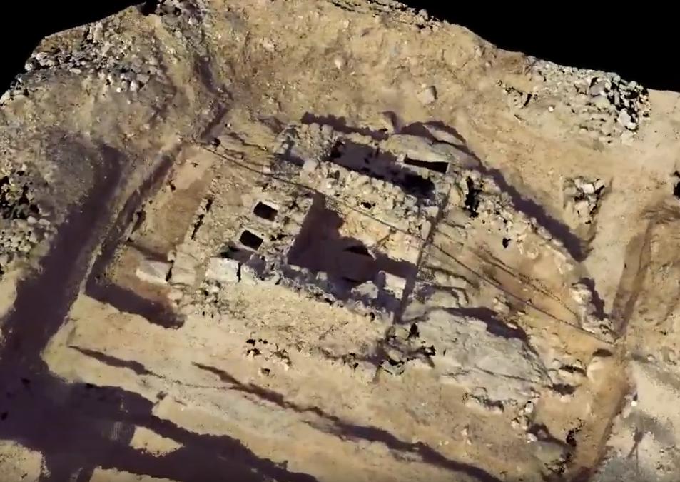 3D сканиране на Елиничестическа фамилна гробница – Созопол